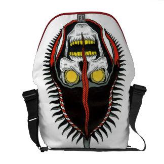skull helmet courier bag