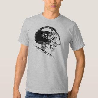 Skull Helmet T Shirt