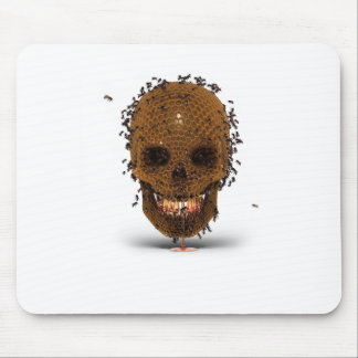 Skull Hive Mouse Pad