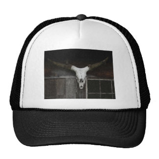 Skull & Horns Trucker Hat