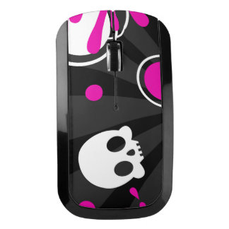 Skull (Hot Pink) Wireless Mouse