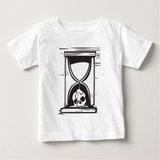 Skull Hour Glass Baby T-Shirt