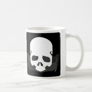 "SKULL ILLUSION ""Cats and mice"" Coffee Mug"