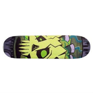 Skull in a jar Skateboard