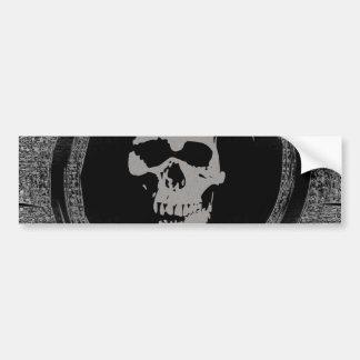 Skull in a Void Bumper Sticker