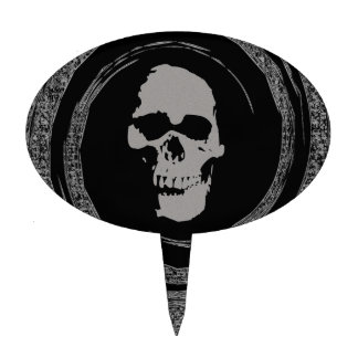 Skull in a Void Cake Topper