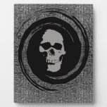 Skull in a Void Display Plaque
