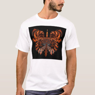 skull in butterfly #04 T-Shirt