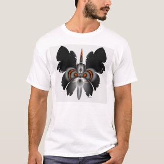 skull in butterfly F01 T-Shirt