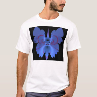 skull in butterfly F06 T-Shirt