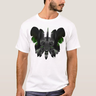 skull in butterfly F11 T-Shirt