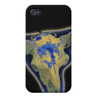 Skull in Darkness Cover For iPhone 4