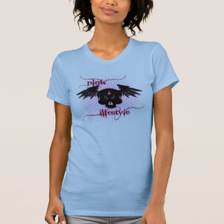 Skull in pink lifestyle T-Shirt
