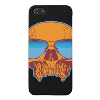Skull in Shades Case For iPhone 5