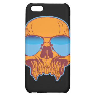 Skull in Shades Case For iPhone 5C