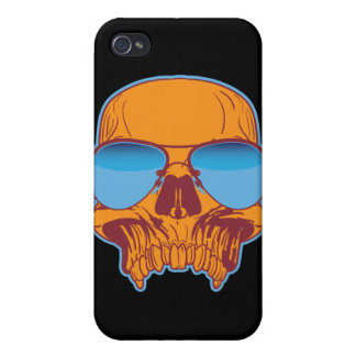 Skull in Shades iPhone 4 Case