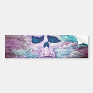 Skull In The Sky Bumper Sticker