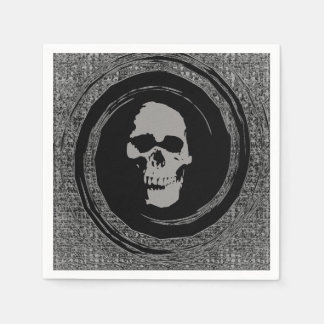 Skull in the Whirl Disposable Napkin