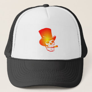 Skull in Top Hat by Chillee Wilson