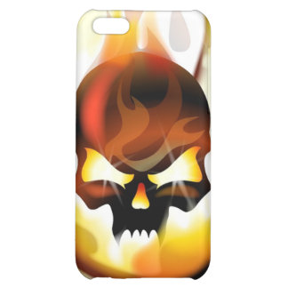 Skull Inferno iPhone 4 Speck Case Cover For iPhone 5C