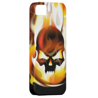 Skull Inferno iPhone 5 Case