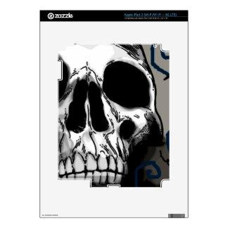 Skull iPad 3 Decal