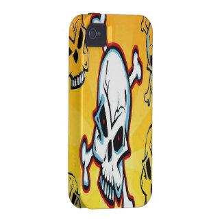 Skull iPhone 4 Case Tough