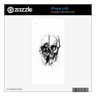 SKULL iPhone 4S SKINS