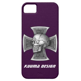 Skull iron-cross iPhone SE/5/5s case