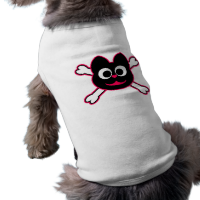 Skull Kat Pink Dog Shirt