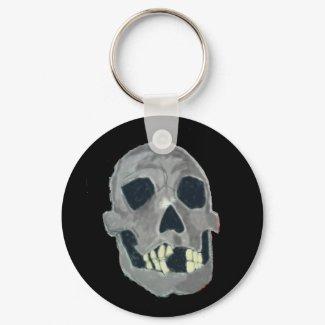 Skull Keychain keychain