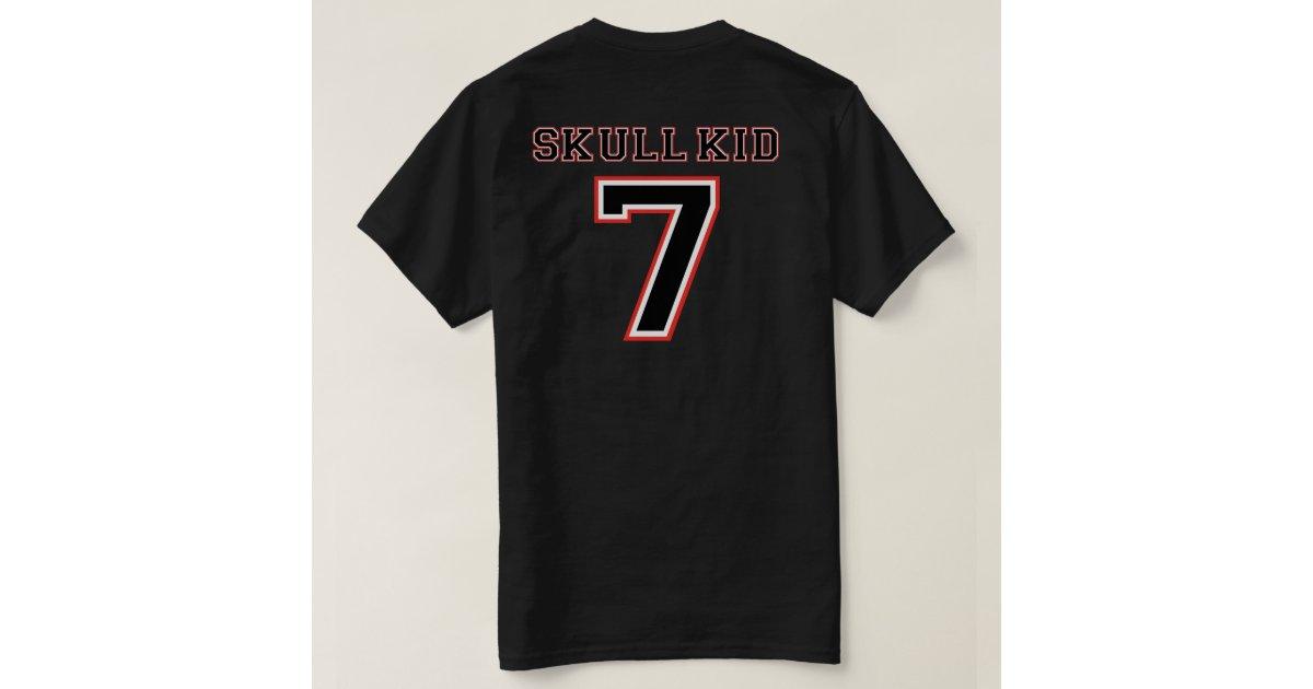 Skull Kid Jersey Atlanta Steam Edition T Shirt Zazzle