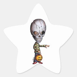 Skull Kid Star Sticker