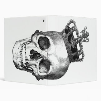Skull King 3 Ring Binder