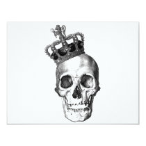 skull, crown, king, royalty, ross farrell, ross, farrell, frox, goth, black and white, graffiti, inkiness, young adult novel, achromatic color, James Rollins, disagreeable person, james thomas farrell, unpleasant person, achromatic colour, cassite, elamite, kassite, paleface, semite, white anglo-saxon protestant, crowned head, king of great britain, king of the germans, male monarch, soot black, king of england, king of france, poor white trash, coal black, white woman, white person, white man, pitch black, jet black, white trash, Convite com design gráfico personalizado