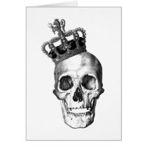 skull, crown, king, royalty, ross farrell, ross, farrell, frox, goth, black and white, graffiti, inkiness, young adult novel, achromatic color, James Rollins, disagreeable person, james thomas farrell, unpleasant person, achromatic colour, cassite, elamite, kassite, paleface, semite, white anglo-saxon protestant, crowned head, king of great britain, king of the germans, male monarch, soot black, king of england, king of france, poor white trash, coal black, white woman, white person, white man, pitch black, jet black, white trash, Card with custom graphic design