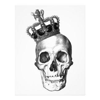 Skull King Letterhead Template