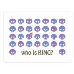 SKULL KING POST CARD