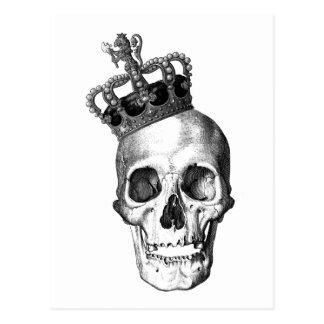 Skull King Postcard