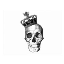 skull, crown, king, royalty, ross farrell, ross, farrell, frox, goth, black and white, graffiti, inkiness, young adult novel, achromatic color, James Rollins, disagreeable person, james thomas farrell, unpleasant person, achromatic colour, cassite, elamite, kassite, paleface, semite, white anglo-saxon protestant, crowned head, king of great britain, king of the germans, male monarch, soot black, king of england, king of france, poor white trash, coal black, white woman, white person, white man, pitch black, jet black, white trash, Postcard with custom graphic design