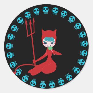 skull&kitty (red)