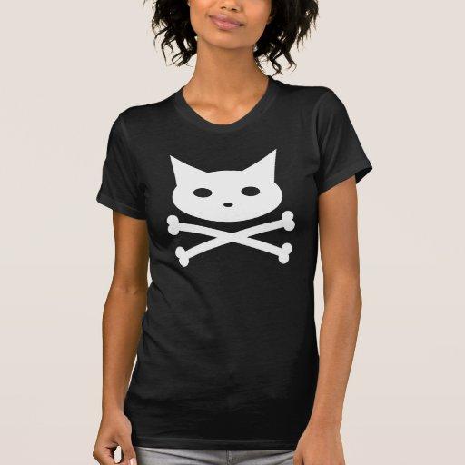 Skull Kitty Tees