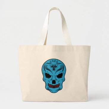 Skull Large Tote Bag
