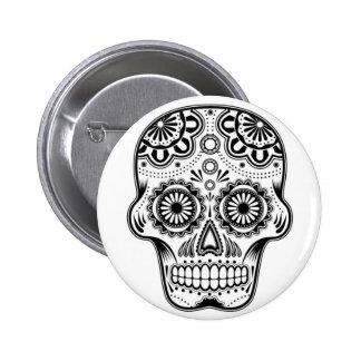 "Skull ""lot Muertos"" Mexico of button pin Anstecker"