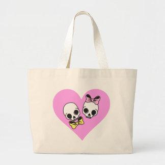 skull love bags