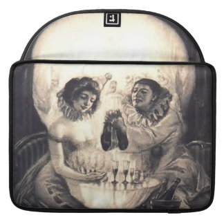 "Skull Love Optical Illusion 15"" MacBook Pro Sleeve"