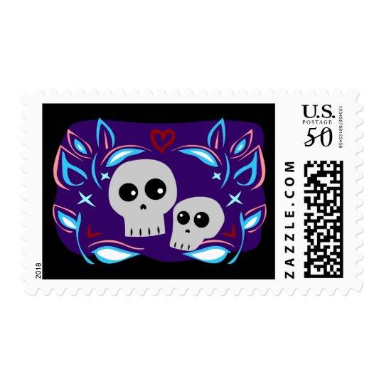 Skull Love Postage
