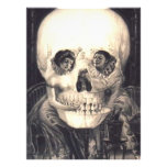 Skull Love Victorian Optical Illusion Vintage Art Photo Print<br><div class='desc'>As gorgeous as it is creepy! This optical illusion is a skull at a distance,  and a couple in love close-up. See my stores,  VivaVictorian and TheSilkRoadMarket for many more vintage images and illustrations for your tech and home.</div>