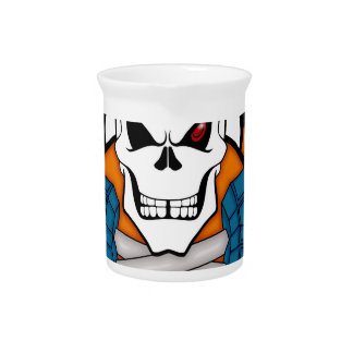 Skull love's weights beverage pitchers