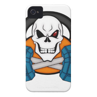 Skull love's weights iPhone 4 case
